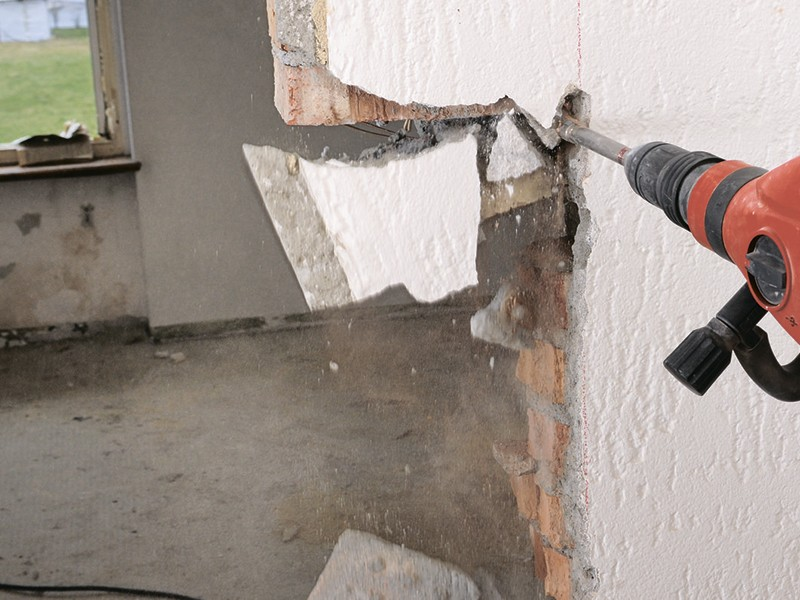 Полный, частичный демонтаж домов, перекрытий, зданий любого типа с вывозом